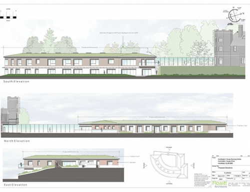 Design and Planning New Two Storey Dementia Home at Huntington House, Hindhead, Surrey.