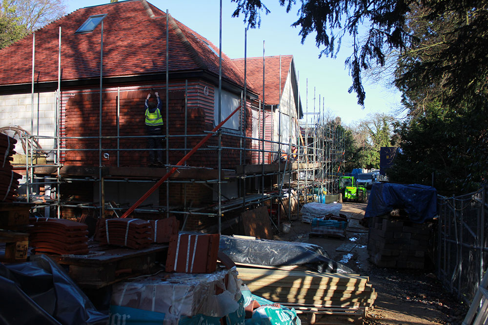 3 new houses in guildford surrey flowitt achitects for Off site built homes